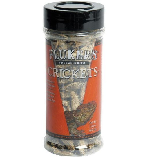 Fluker's Freeze Dried Crickets, 1.2 oz.