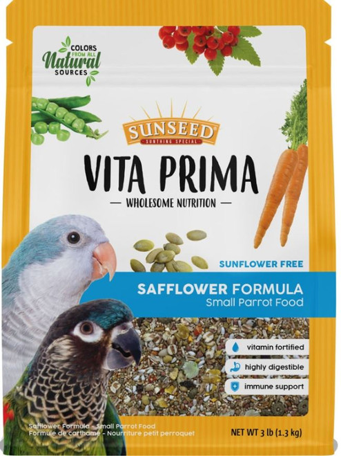 Sunseed Vita Prima Small Hookbill Formula, 3 Lbs.