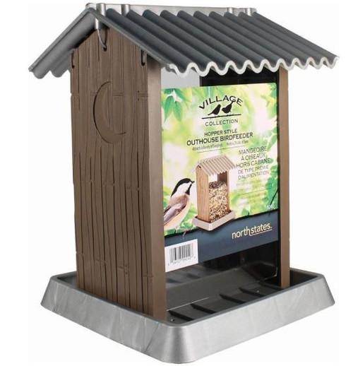 Village Collection Outhouse Bird Feeder