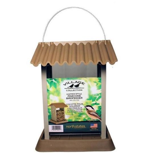 Village Collection Pinecone Bird Feeder