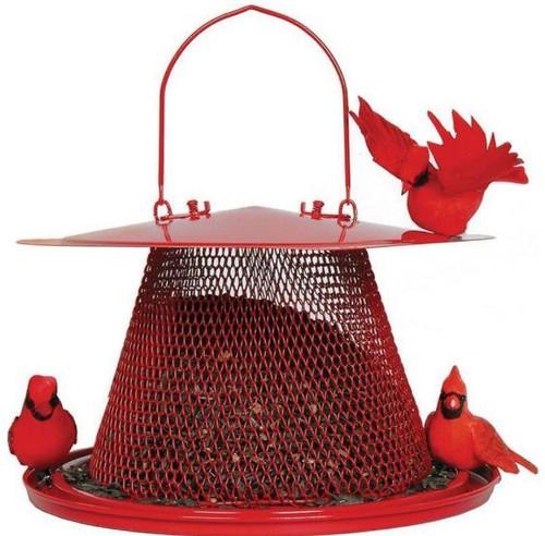 Woodstream No/No Cardinal Feeder, Red