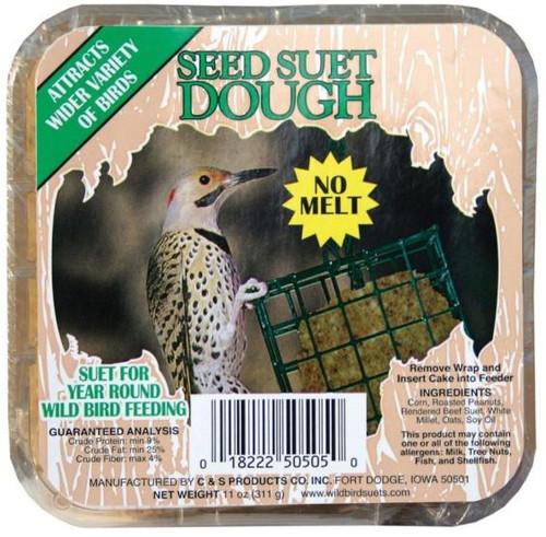 C & S Seed Suet Dough, 11 oz.