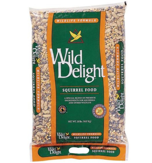 Wild Delight Crunch N' Nut Squirrel Food, 20 Lbs.