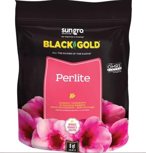 Sun Gro Black Gold Perlite, 8 Qt.