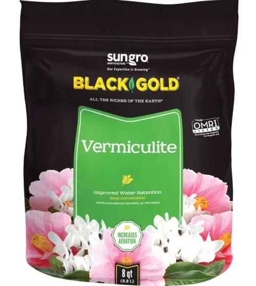 Sun Gro Black Gold Vermiculite, 8 Qt.