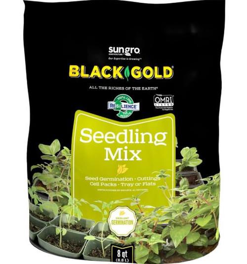 Sun Gro Black Gold Seedling Mix Omri, 8 Qt.