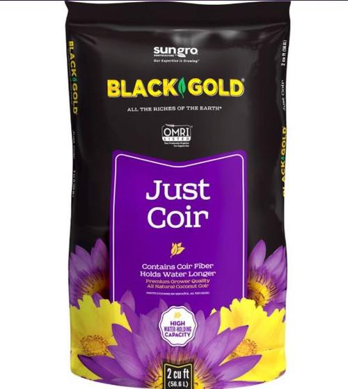 Sun Gro Black Gold Just Coir Omri, 2 Cu. Ft.