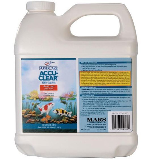 API Pondcare Accu-Clear Water Clarifier, 1 Gallon
