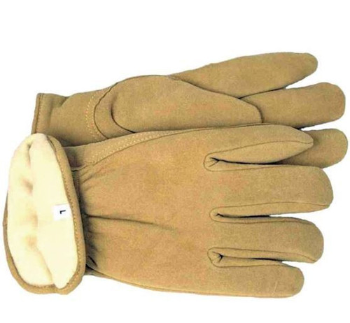 Boss Therm Insulated Split Deerskin Driver Gloves