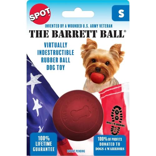 SPOT The Barrett Ball Rubber Dog Toy