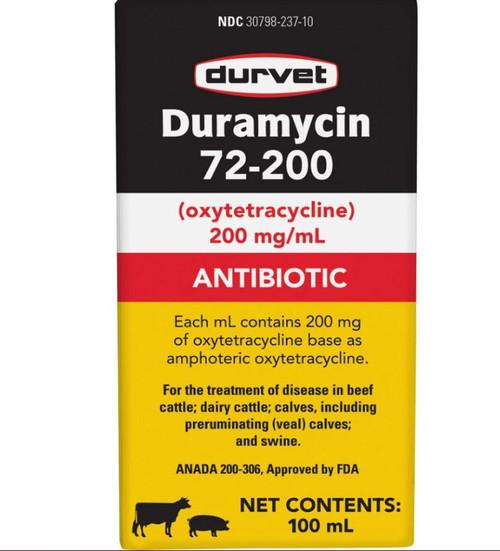 Durvet Duramycin 72-200, 100 ML