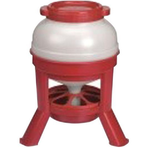 Little Giant Plastic Dome Feeder, Red