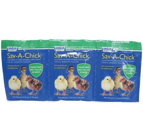 Sav-A-Chick Electrolyte & Vitamin Supplement, .25 oz/3 Pack