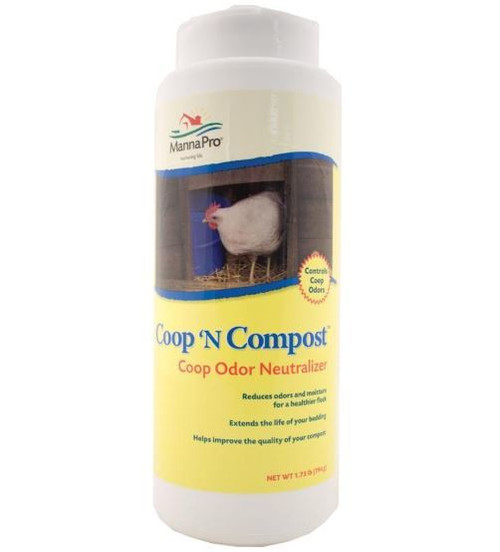 Manna Pro Coop N Compost Coop Odor Neutralizer, 1.75 Lbs.