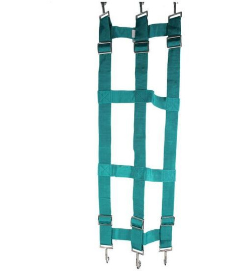 "Partrade Nylon Web Stall Guard, 46x18"", Green"