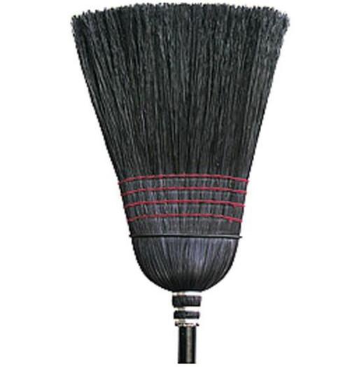 "Nexstep Warehouse Black Corn Broom, 12"""