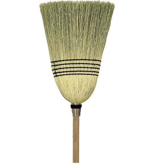 Nexstep Parlor 100% Corn Broom, 12""