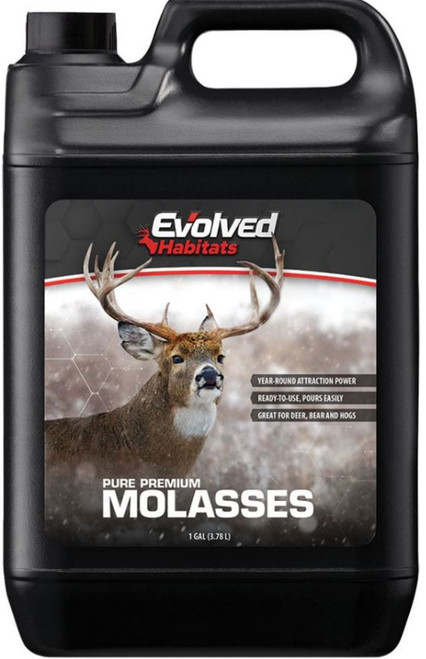 Evolved Habitats Wildlife Molasses Attractant, 1 Gallon