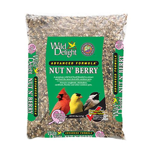 Wild Delight Nut N' Berry Bird Food, 5 Lbs.