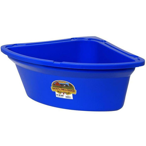 Little Giant Duraflex Corner Feeder, 26 Qt.