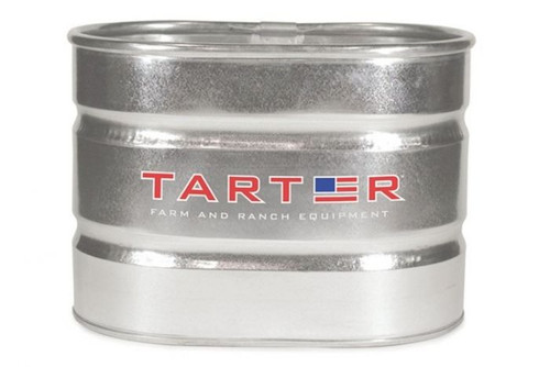 American Farmland Tarter Heavy Duty Galvanized Oval Stock Tank, 71 Gal.