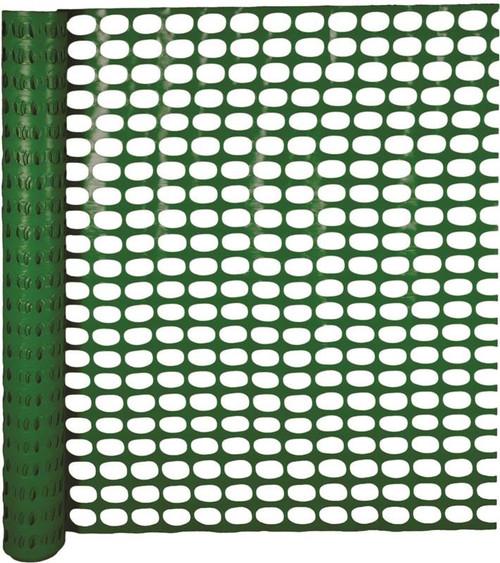 Mutual Industries Polyethylene Snow Fence, 100' x 4', Green
