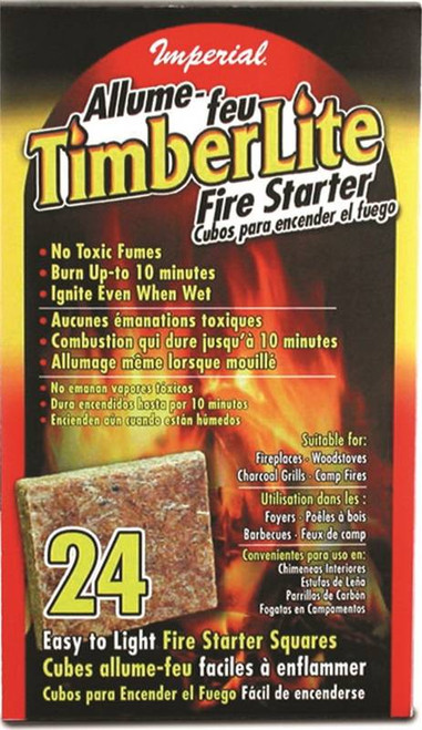 Imperial Timberlite Fire Starter Square Carton