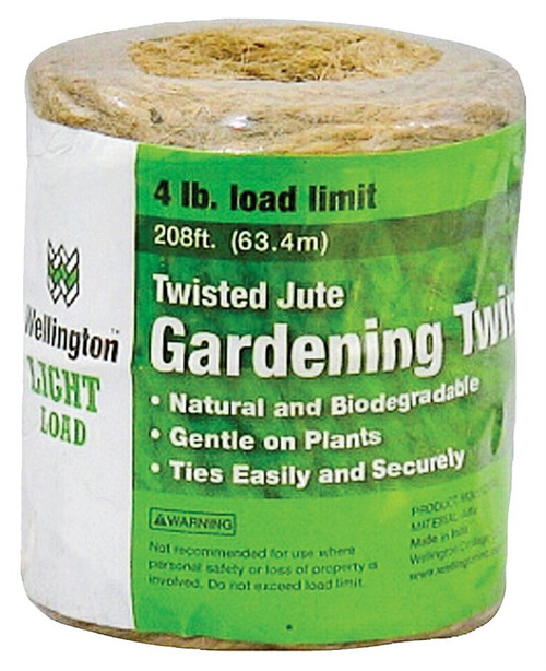 Wellington Light Load 3-Ply Twisted Jute Gardening Twine