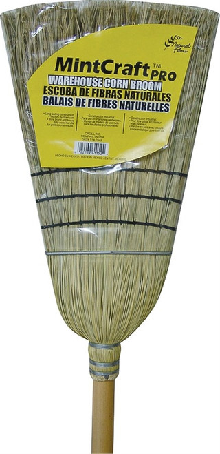 Simple Spaces Heavy Duty Corn Warehouse Broom
