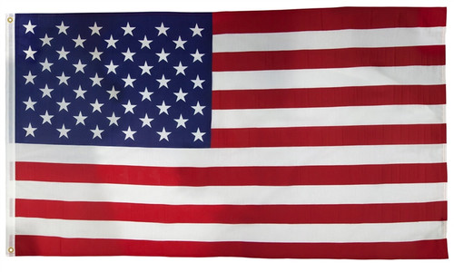 Valley Forge Poly Cotton American Flag, 3x5'