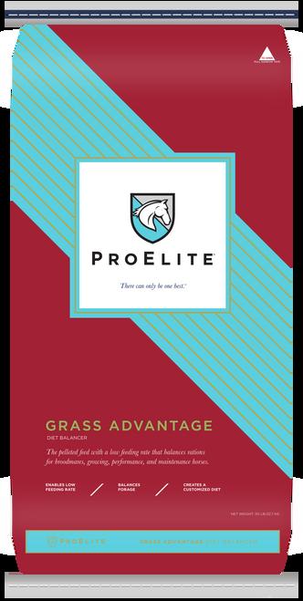 ProElite Grass Advantage Supplement Pelleted Grass Feed, 50 Lbs.