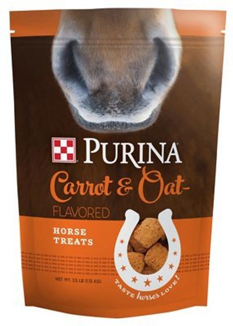 Purina Carrot And Oat Flavored Horse Treats, 2.5 Lb. Bag