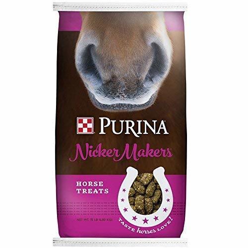 Purina Nicker Makers Horse Treats, 15 Lb. Bag