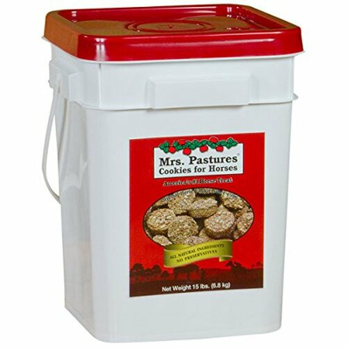 Mrs. Pastures Cookies For Horses, 15 Lb. Bucket