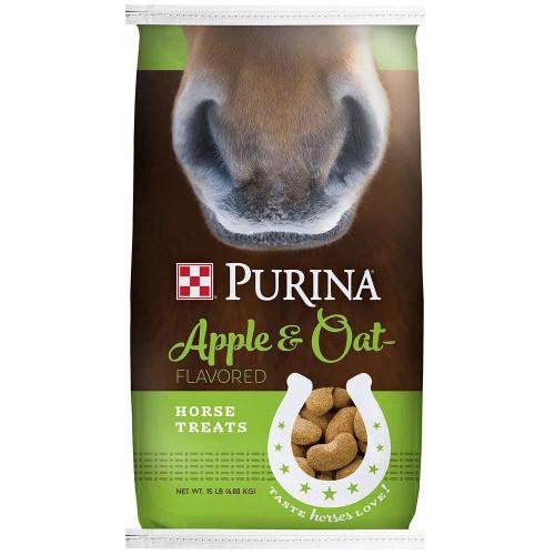 Purina Apple And Oat Flavored Horse Treats, 15 Lb. Bag
