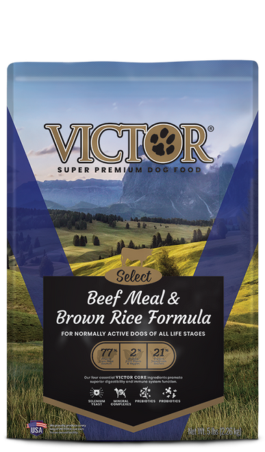 Victor Beef & Brown Rice All Life Stages Dog Food