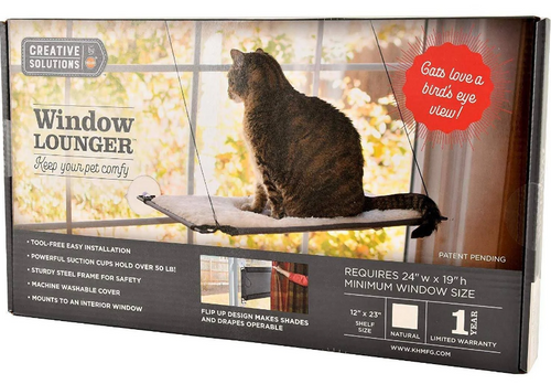 K&H Creative Solutions Cat Window Lounger