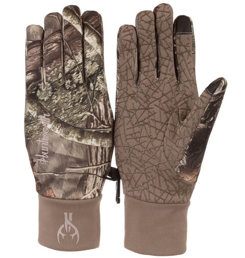 Huntworth Ladies Light Weight Hidd'N Camo Shooter's Gloves