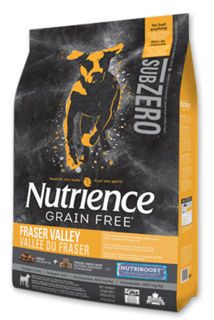 Nutrience Subzero Fraser Valley Formula Dry Dog Food