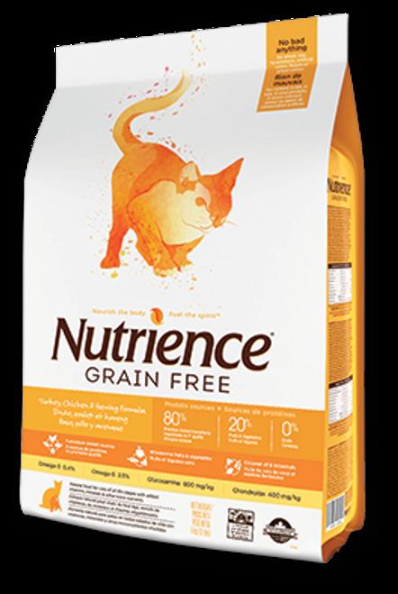 Nutrience Grain Free Turkey, Chicken & Herring Formula Dry Cat Food