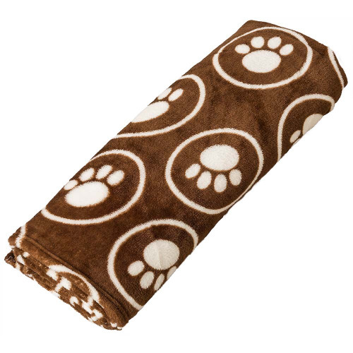 Ethical Snuggler Paws/Circle Blanket, Chocolate, 30x38