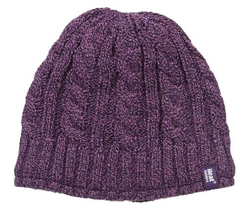 Heat Holders Women's Hat, Purple