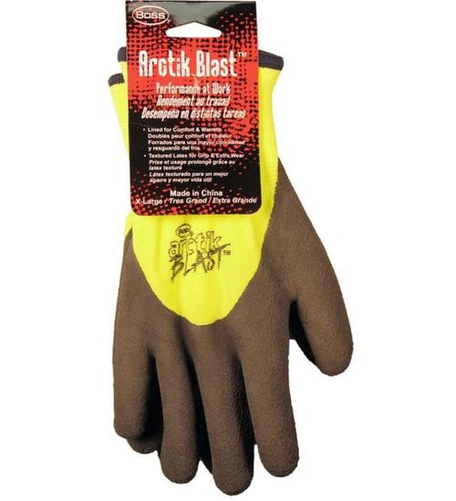 Boss Arctik Blast High-Vis Textured Gloves, XL
