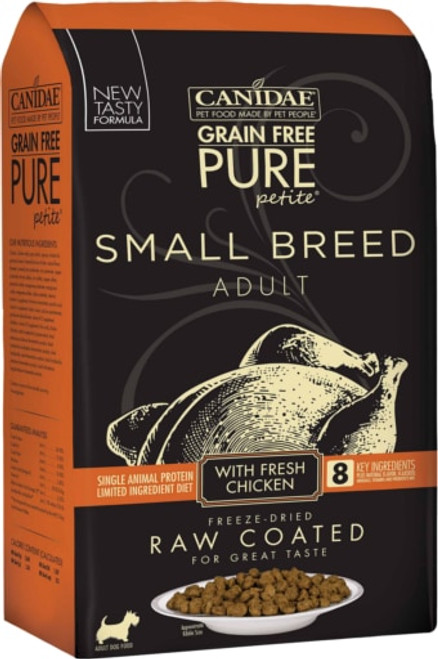 Canidae Grain-Free Pure Petite Chicken Formula Small Breed Limited Ingredient Diet Dry Dog Food