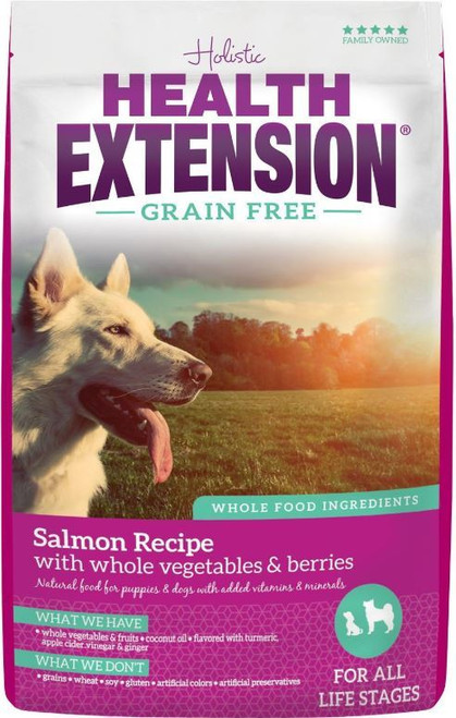 Health Extension Grain-Free Salmon Recipe Dry Dog Food