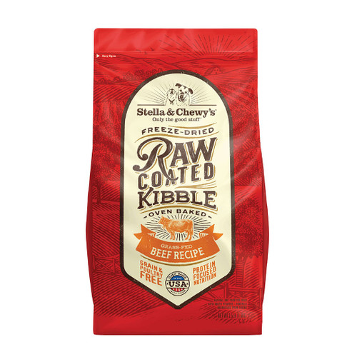 Stella & Chewy's Freeze-Dried Raw Coated Beef Recipe Dry Dog Food