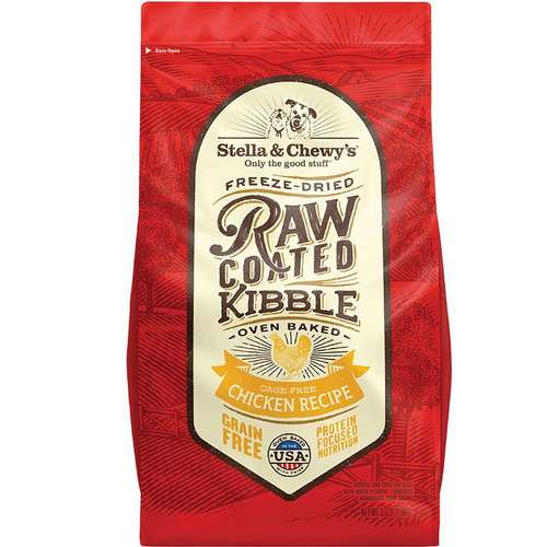 Stella & Chewy's Freeze-Dried Raw Coated Chicken Recipe Dry Dog Food