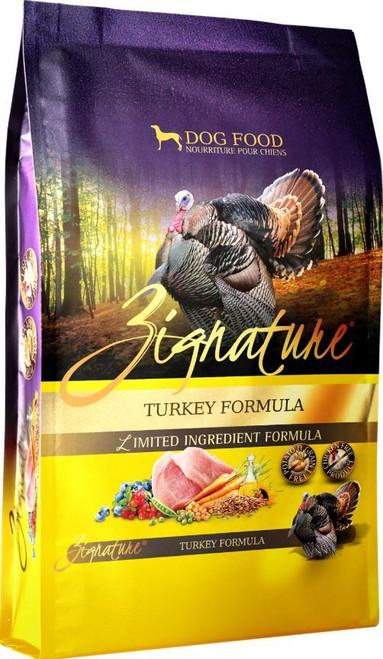 Zignature Grain Free Limited Ingredient Turkey Formula Dry Dog Food, 27 Lbs.