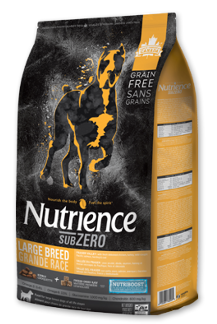Nutrience Subzero Fraser Valley Large Breed Dry Dog Food, 22 Lbs.