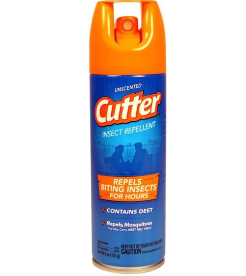 Cutter Unscented Insect Repellent, 6 Oz.